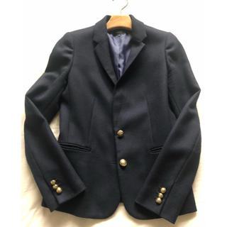 ルシェルブルー(LE CIEL BLEU)のルシェル ブルー LE CIEL BLEU ネイビー 金ボタン ジャケット 40(テーラードジャケット)