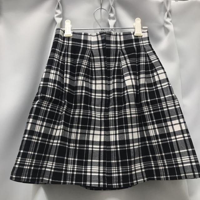 evelyn(エブリン)のevelyn チェックスカート レディースのスカート(ミニスカート)の商品写真