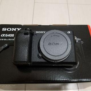 【新品同様】SONY α6400 ボディのみ 純正バッテリー×2