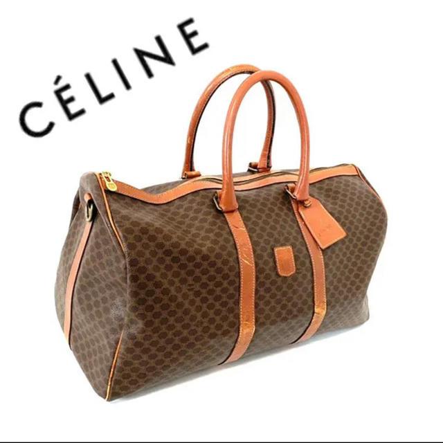celine(セリーヌ)のceline セリーヌ マカダム柄 ボストンバッグ ハンドバッグ トートバッグ レディースのバッグ(ボストンバッグ)の商品写真