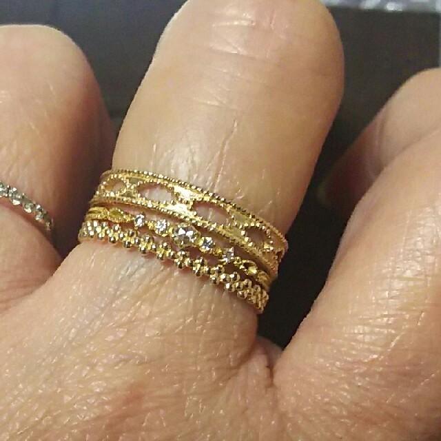 agete(アガット)のagete k10 リング レディースのアクセサリー(リング(指輪))の商品写真