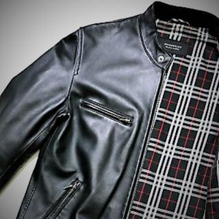 バーバリーブラックレーベル(BURBERRY BLACK LABEL)のバーバリーブラックレーベル ライダースジャケット(ライダースジャケット)