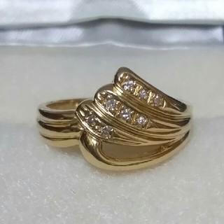 ジュエリーマキ - K18 ジュエリーマキ リング 11号 ダイヤモンド 指輪 18金