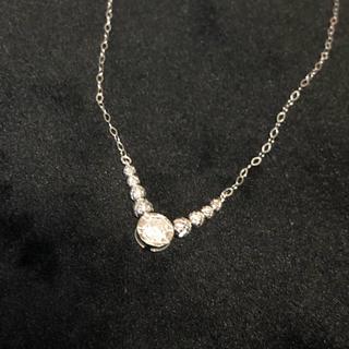 wg k18 ダイヤモンド ネックレス