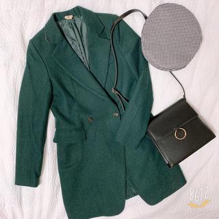 ディーホリック(dholic)の韓国で購入!グリーンのコート(チェスターコート)