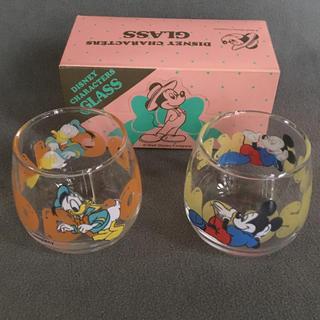 Disney - ディズニー  ミッキー & ドナルド    ショットグラス 2個セット