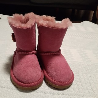 アグ(UGG)のUGG ピンク 14,5cm(ブーツ)
