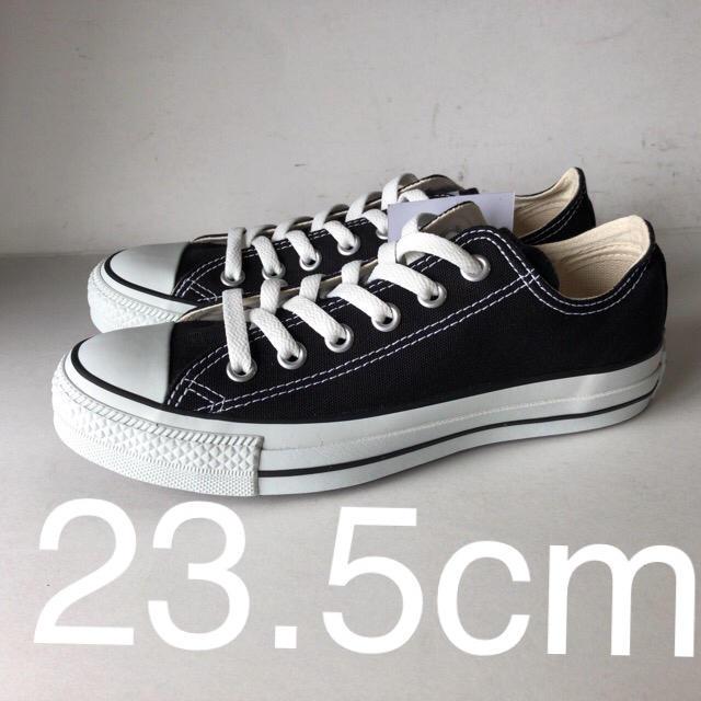 CONVERSE(コンバース)の新品 コンバース オールスター OX BK ブラック 23.5cm レディースの靴/シューズ(スニーカー)の商品写真