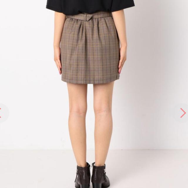 archives(アルシーヴ)の最終SALE●コメント必須●チェックスカパン レディースのスカート(ミニスカート)の商品写真