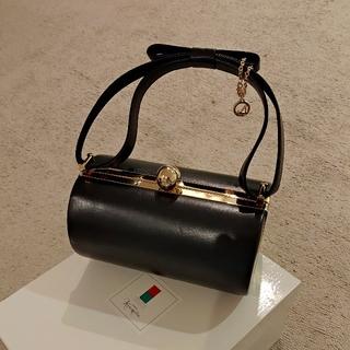 ギンザカネマツ(GINZA Kanematsu)のレディース パーティバッグ 銀座かねまつ 黒(ハンドバッグ)
