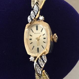 オメガ(OMEGA)の専用✨ BULOVA 14K アンティークダイヤモンドウォッチ(腕時計(アナログ))