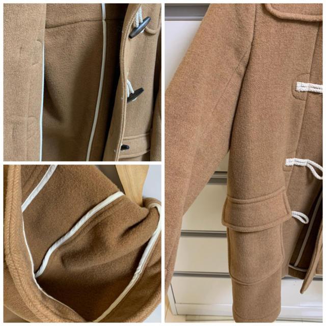 SM2(サマンサモスモス)のサマンサ モスモス ダッフルコート キャメル ブラウン 茶色 秋冬 レディースのジャケット/アウター(ダッフルコート)の商品写真