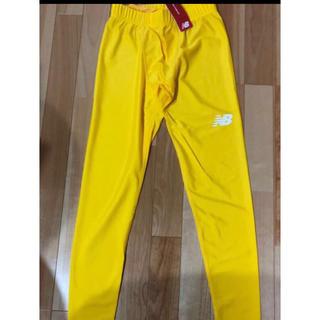 New Balance - ニューバランス ロングタイツ スパッツ M 黄色 イエロー コンプレッション
