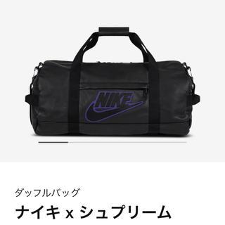 シュプリーム(Supreme)のSupreme®/Nike® Leather Duffle Bag Black(ボストンバッグ)