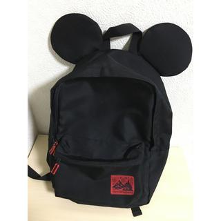 Disney - ディズニーリゾート ミッキー耳リュック 黒