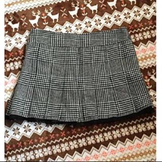 セシルマクビー(CECIL McBEE)の古着 スカート CECIL McBEE チェックスカート 千鳥柄 スカート(ミニスカート)