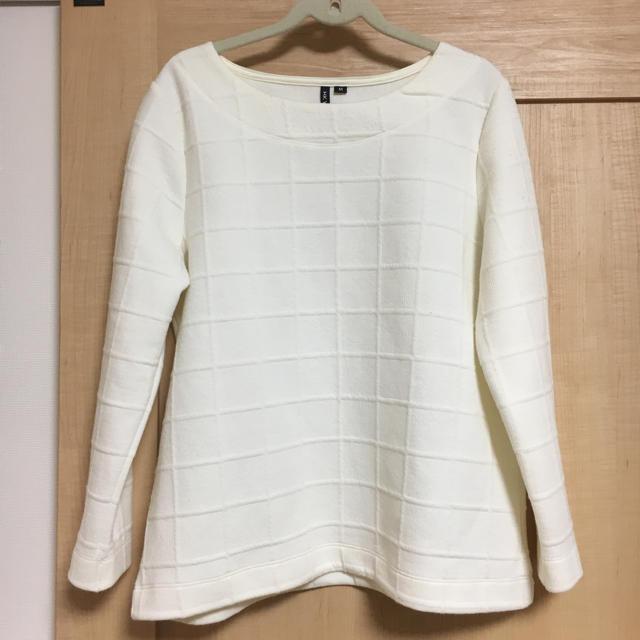 しまむら(シマムラ)の新春セール★しまむら★白のニット レディースのトップス(ニット/セーター)の商品写真