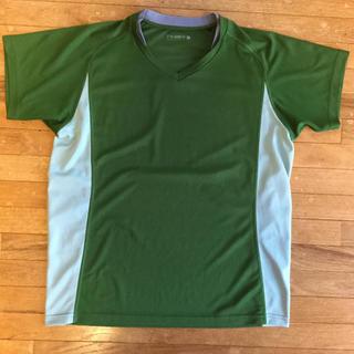 UNIQLO - ジーユー スポーツ GU 半袖Tシャツ メンズL ポリエステル製