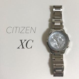 CITIZEN - シチズン クロスシー xC  クロノグラフ電池式腕時計 ペールブルー