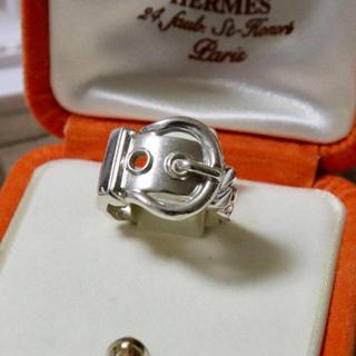 エルメス(Hermes)のエルメス シルバーリング ベルトモチーフ(リング(指輪))