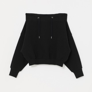 rienda - rienda今季最新作 Off Shoulder sweat TOP-Rパーカ