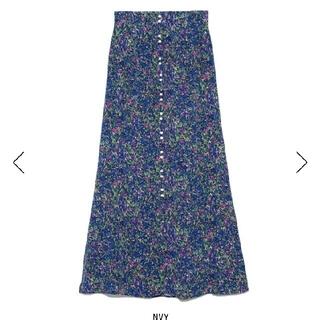FRAY I.D - タグ付新品 フレイアイディー フラワーナロースカート