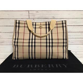 BURBERRY - Burberry London バーバリーロンドン ノバチェック  ハンドバッグ