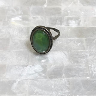 ★新品未使用★ チェコガラス リング(リング(指輪))