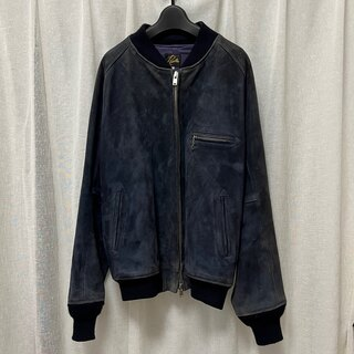 ニードルス(Needles)のneedles ニードルズ bb jacket indigo suede(レザージャケット)