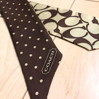 COACH - 【美品】コーチ リボンスカーフ