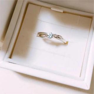 ヨンドシー(4℃)の4°C ブルー シルバー リング 指輪(リング(指輪))