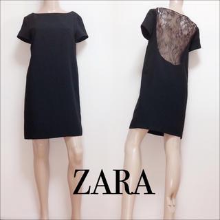 ZARA - ZARA バックレース ワンピース フォーマル♡H&M Bershka ビームス