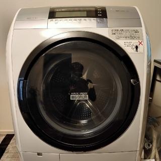 日立 - 【今月限定大幅値下げ!】送料無料 HITACHI ドラム式洗濯機BD-V9800