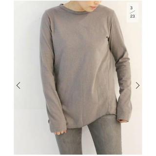 DEUXIEME CLASSE - Layering Tシャツ ブラウンB 未開封新品タグ付き