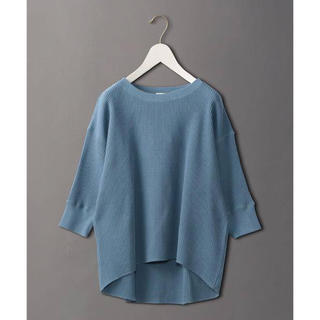 BEAUTY&YOUTH UNITED ARROWS - <6(ROKU)>THERMAL CREW NECK 6SLEEVE