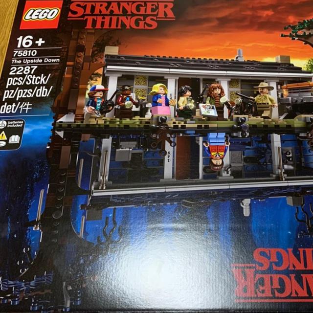 Lego(レゴ)のレゴ (LEGO) ストレンジャー・シングス 裏側の世界 75810  キッズ/ベビー/マタニティのおもちゃ(積み木/ブロック)の商品写真