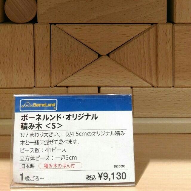 BorneLund(ボーネルンド)の新品ボーネルンド積み木 キッズ/ベビー/マタニティのおもちゃ(積み木/ブロック)の商品写真