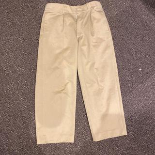 コモリ(COMOLI)のAURALEE WASHED FINX CHINO WIDE PANTS (チノパン)