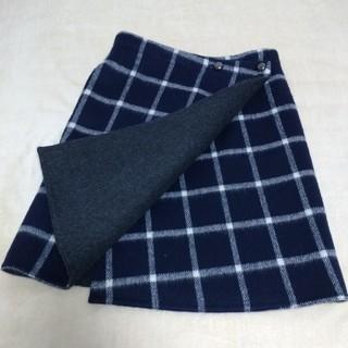 IENA - (未使用に 近い)IENA  イエナ チェック柄スカートサイズ34