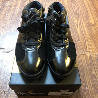 Onitsuka Tiger - トップセブン TS-7709  ブラック スニーカー 靴