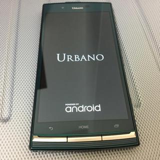 au - au  URBANO V02    ダークグリーン
