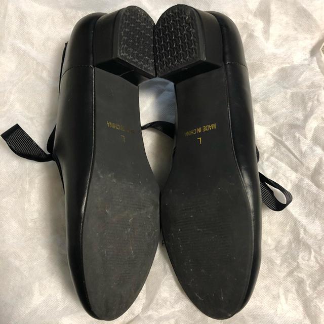 merlot(メルロー)のリボンフラットパンプス レディースの靴/シューズ(ハイヒール/パンプス)の商品写真
