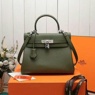 Hermes - ケリー 内縫い 28 カノピ  グリンー ハンドバッグ nori様専用