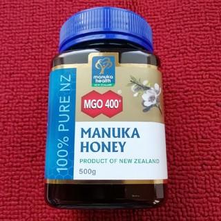 マヌカハニー400+  マヌカヘルス400+  500g