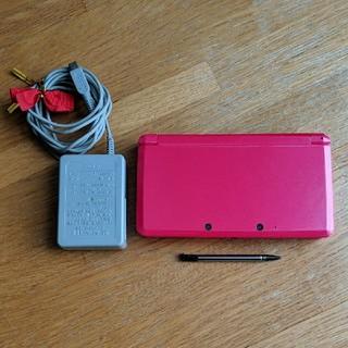 ニンテンドー3DS(ニンテンドー3DS)のケン様 専用!! 任天堂3DS  本体+タッチペン+充電器(携帯用ゲーム機本体)