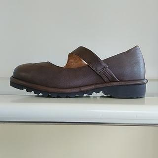 サヤ(SAYA)のSAYA 高反発インソールストラップシューズ(ローファー/革靴)