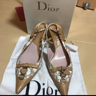 Christian Dior - Dior ディオールモノグラム柄 サンダル36◻️値下げ最終価格