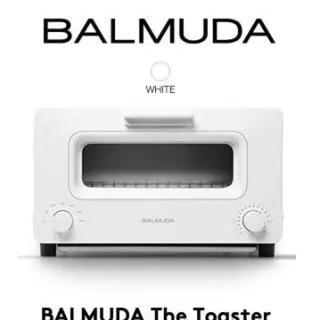 バルミューダ(BALMUDA)の新品未使用 バルミューダデザイン K01E-WS スチームトースター ホワイト(調理機器)