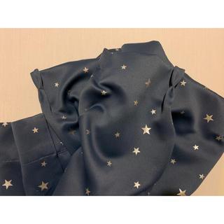 ニトリ - ニトリ カーテン 星柄 100×110 2枚