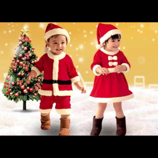 サンタコス ベビー&キッズ キッズ/ベビー/マタニティのベビー服(~85cm)(その他)の商品写真